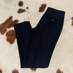 Massimo Dutti Dark Navy Dress Pants